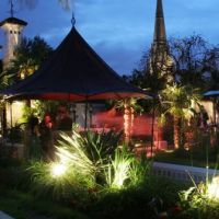 The Roof Gardens London events.