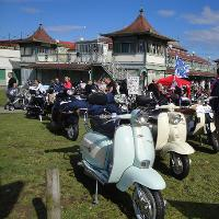 Isle Of Wight August Bank Holiday Scooter Weekend 2107