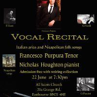 concert of italian arias and neapolitan classic songs