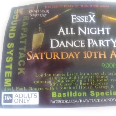 Essex all night dance party