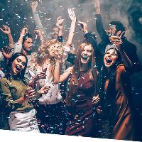 New Year's Eve party Night
